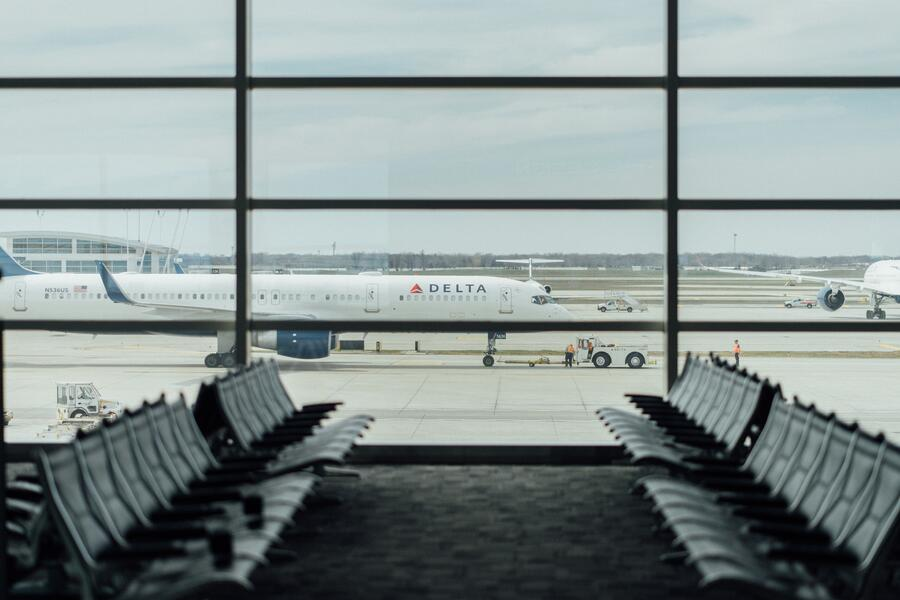 Source One COVID-19 Leads to Early Retirement for Iconic Aircraft Empty Airport Seats by Window