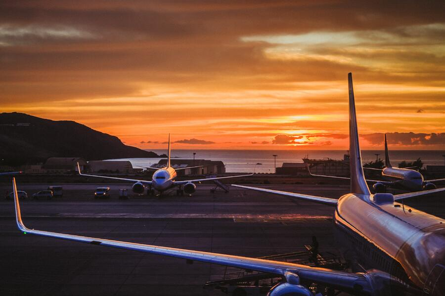 Source One Spares Aviation MRO Supply Chain Faces Used Parts Shortage Several Grounded Planes Sunset
